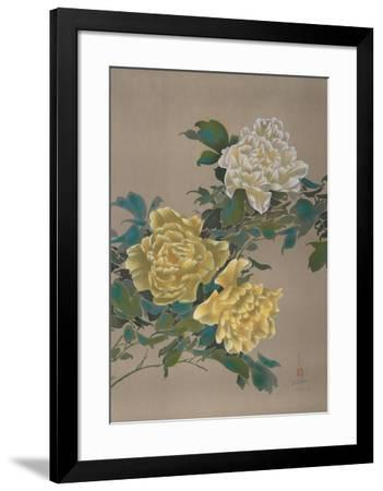 Yellow Flowers 13-David Lee-Framed Limited Edition