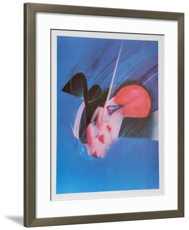 Space Stirs-Pater Sato-Framed Limited Edition