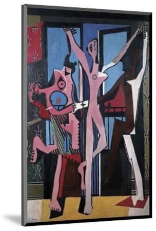 The Three Dancers, 1925-Pablo Picasso-Mounted Art Print