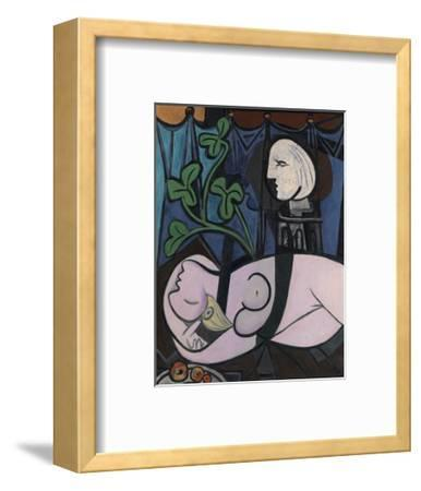 Nude, Green Leaves and Bust, 1932-Pablo Picasso-Framed Art Print