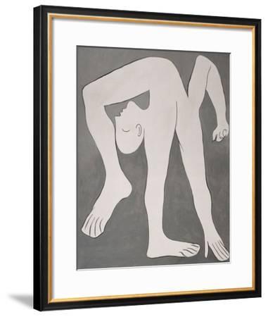 L'acrobate (The Acrobat)-Pablo Picasso-Framed Art Print
