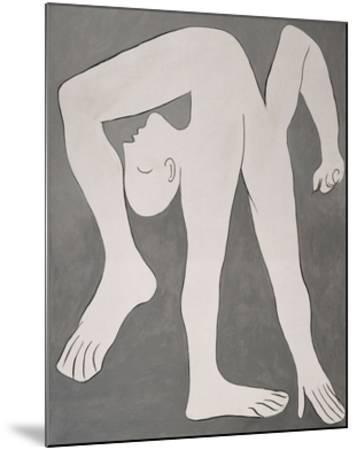 L'acrobate (The Acrobat)-Pablo Picasso-Mounted Art Print