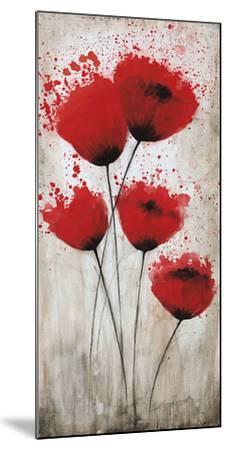 Luminous Crimson II-Catherine Brink-Mounted Art Print