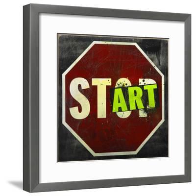 Start-Daniel Bombardier-Framed Giclee Print