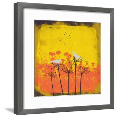 Away From The Flock I-Ken Hurd-Framed Giclee Print