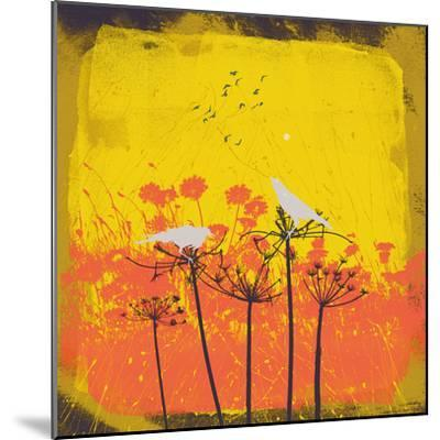 Away From The Flock I-Ken Hurd-Mounted Giclee Print