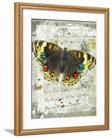 Papillon II-Ken Hurd-Framed Giclee Print