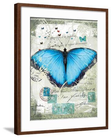 Papillon III-Ken Hurd-Framed Giclee Print