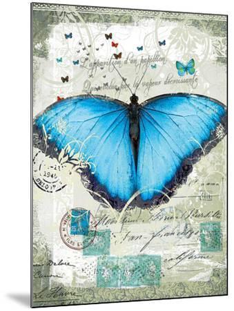 Papillon III-Ken Hurd-Mounted Giclee Print