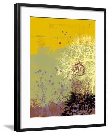 Moon Song I-Ken Hurd-Framed Giclee Print