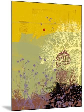 Moon Song I-Ken Hurd-Mounted Giclee Print