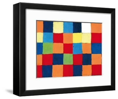 Farbtafel, c.1930-Paul Klee-Framed Art Print