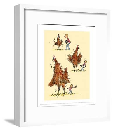 Georges Marvellous Medicine-Quentin Blake-Framed Art Print