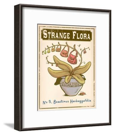 No.5 Beautimus Hanbaggafolia-Phil Garner-Framed Art Print