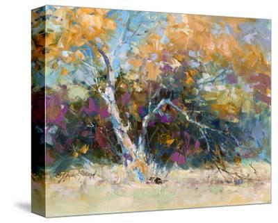 Sycamore-Julie Pollard-Stretched Canvas Print