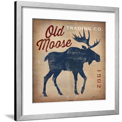 Old Moose Trading Co.-Ryan Fowler-Framed Art Print