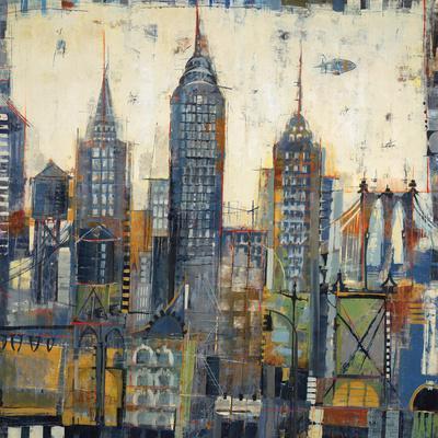 City Sketches-Elizabeth Jardine-Framed Art Print