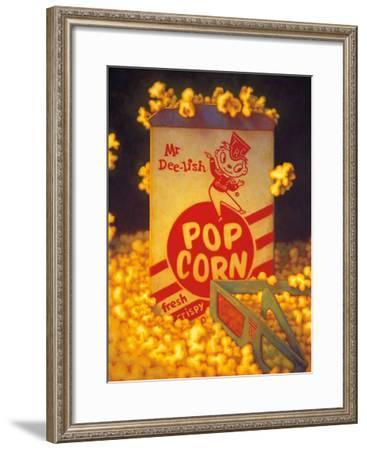 3D Popcorn-TR Colletta-Framed Art Print