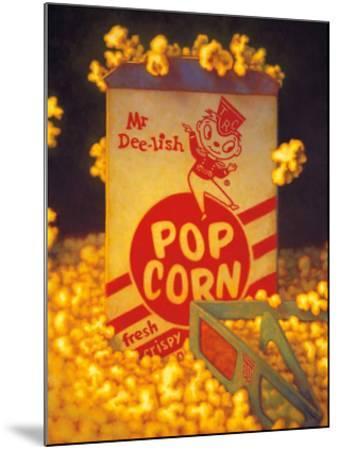 3D Popcorn-TR Colletta-Mounted Art Print