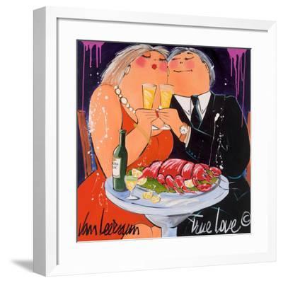 True Love-El Van Leersum-Framed Art Print