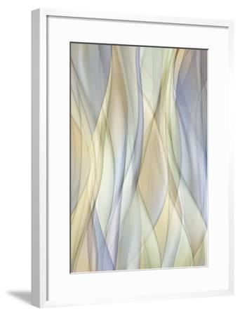 Sheer Lilac and Crème-J^P^ Clive-Framed Art Print