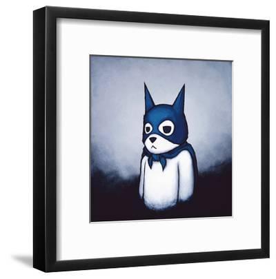 Bat Bear-Luke Chueh-Framed Art Print