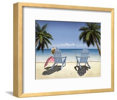 Cocktails for Two-Daniel Pollera-Framed Art Print