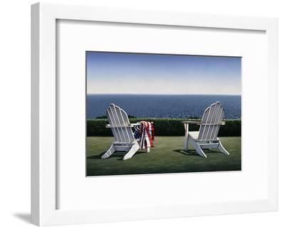 Spring House View-Daniel Pollera-Framed Art Print