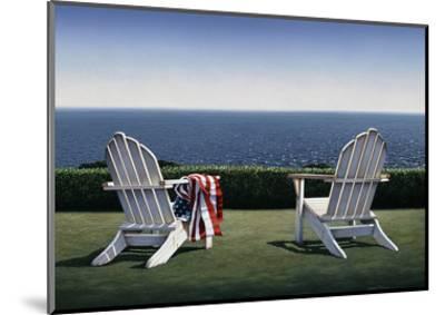 Spring House View-Daniel Pollera-Mounted Art Print