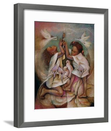 Ringbell Heaven-Essud Fungcap-Framed Art Print