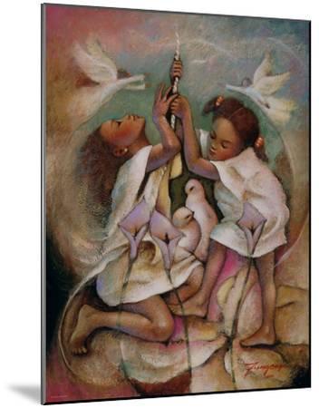 Ringbell Heaven-Essud Fungcap-Mounted Art Print