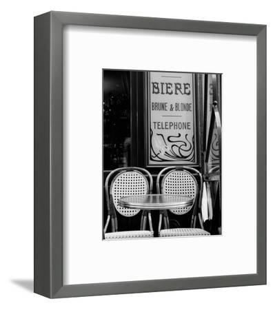 Biere Brune et Blonde--Framed Art Print