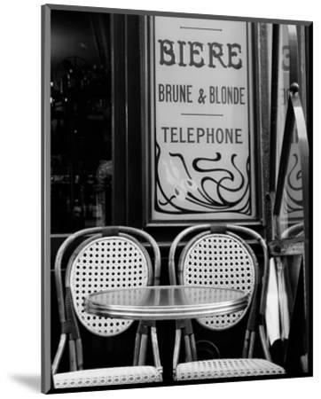 Biere Brune et Blonde--Mounted Art Print