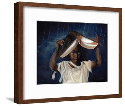 Sheltered-Edwin Lester-Framed Art Print