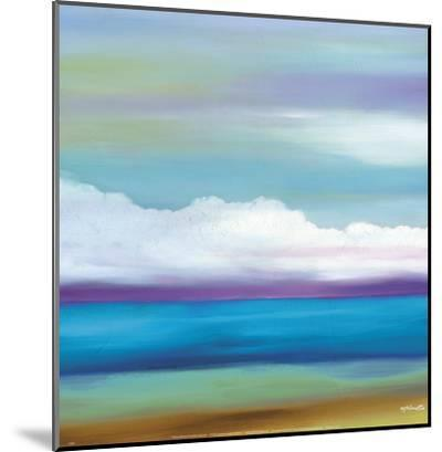 Prairie Abstract 8-Mary Johnston-Mounted Art Print