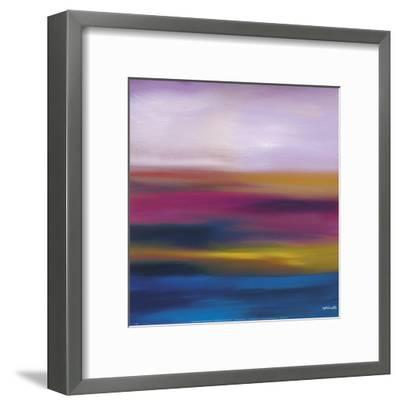 Prairie Abstract 10-Mary Johnston-Framed Art Print