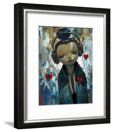 She Had her Sources-Aaron Jasinski-Framed Art Print