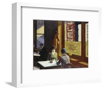 Chop Suey, 1929-Edward Hopper-Framed Art Print