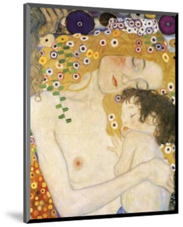 Mother and Child (detail from The Three Ages of Woman), c. 1905-Gustav Klimt-Mounted Art Print