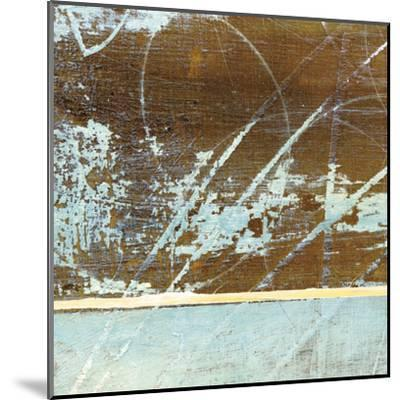 Barn Blue Square I-J^ McKenzie-Mounted Art Print