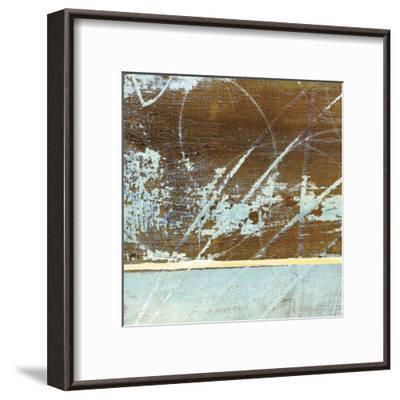 Barn Blue Square I-J^ McKenzie-Framed Art Print