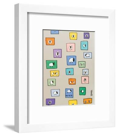 Sheep I-Brian Nash-Framed Art Print