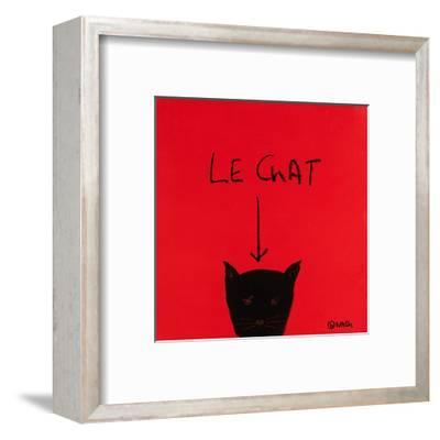 Le Chat-Brian Nash-Framed Art Print
