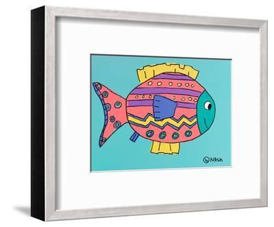 Fish 4-Brian Nash-Framed Art Print