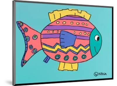 Fish 4-Brian Nash-Mounted Art Print