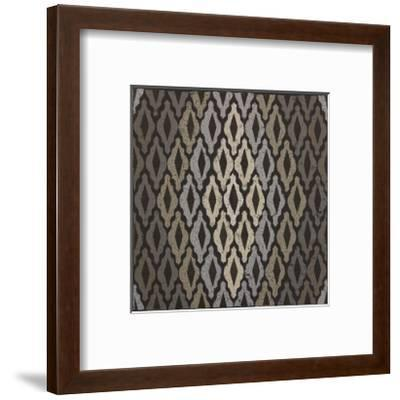 Moroccan Tile with Diamond-Susan Clickner-Framed Giclee Print