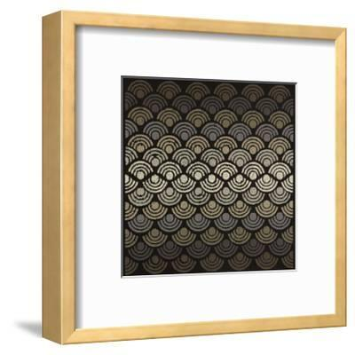 Dot Waves-Susan Clickner-Framed Giclee Print