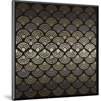 Dot Waves-Susan Clickner-Mounted Giclee Print