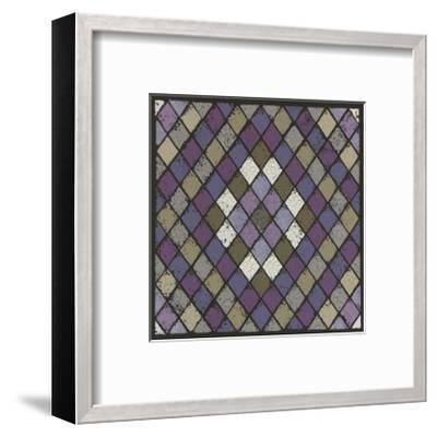 Harlequin - Plum-Susan Clickner-Framed Giclee Print