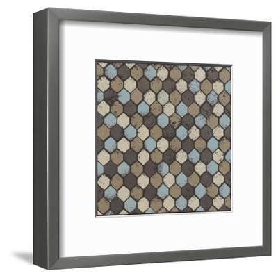 Honeycomb (Blue)-Susan Clickner-Framed Giclee Print